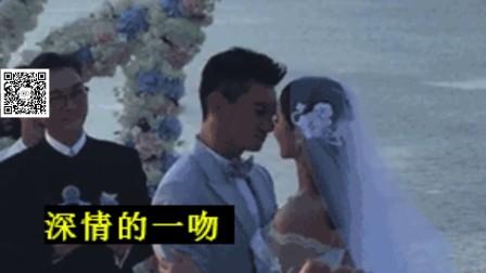 吴奇隆刘诗诗巴厘岛大婚 新人献上深情一吻