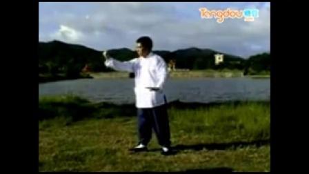 85式杨式太极拳教学第二段_baofeng