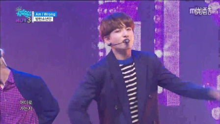 防弹少年团 BTS - Am I Wrong, 방탄소년단 - Am I Wrong Show Music core 20161029