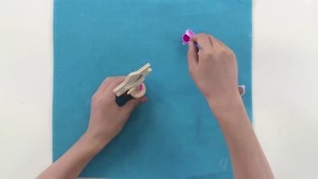 蓝迪创想手工 小花盆相框