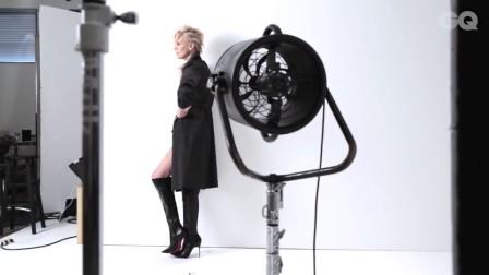 Charlize Theron拍照技术获赞