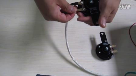 欧朗汽车盆型喇叭测音视频