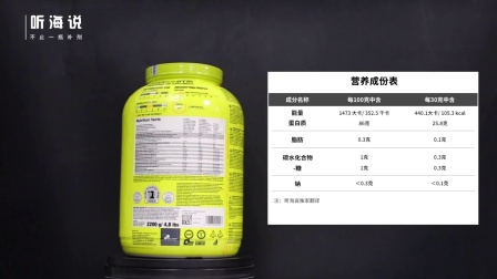 【听海说】Olimp Whey Isolate95分离乳清蛋白粉