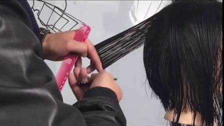周飞老师教剪发《刀发型雕》