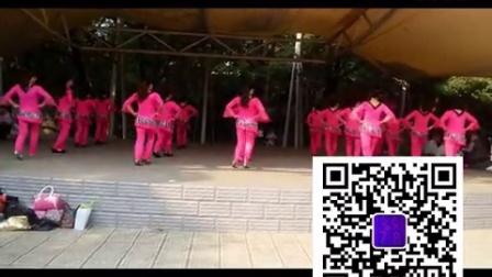 南昌玲玲广场舞集体版一周年庆【跳到北京】