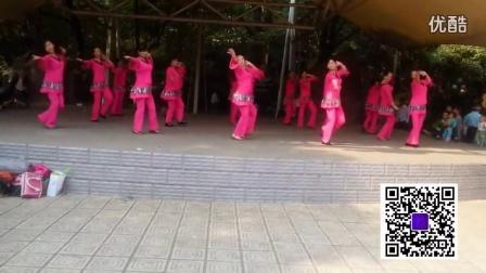 南昌玲玲广场舞集体版一周年庆【仰望雪域】