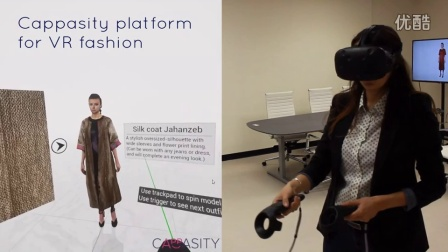 Cappasity.COM for Fashion. Virtual Reality shopping demo