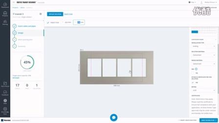 烙克赛克RTD设计步骤 How to use the design step in Roxtec Transit Designer