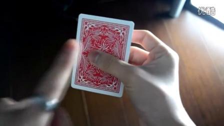 【魔术教学】黏黏手ANGEL扑克魔术教学 嬸嬸花式扑克魔术教学