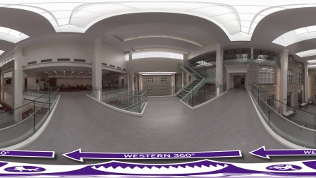 Western 360全景视频之你所不知道的UWO- Physics and Astronomy Atrium