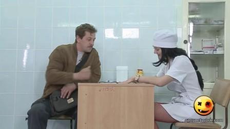 美女护士脱裤子色诱 与病人上演制服诱惑