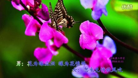 视频歌曲《语花蝶》老玩童-超清