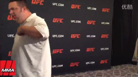 Jacare Souza Makes Surprise Weigh-in for UFC 205
