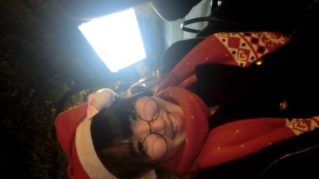 【Merry Christmas】凌晨和闺蜜在江边踩车