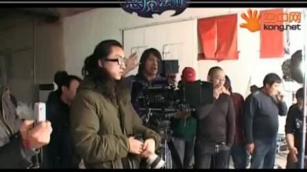 谢娜张杰为游戏<恶魔法则>拍宣传片花絮