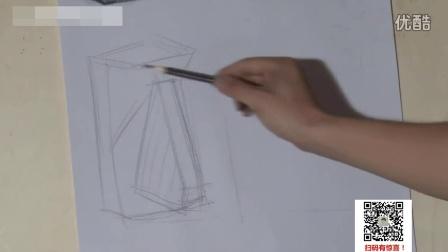素描基础火影忍者图片素描教程_水彩笔_素描画色彩入门教学