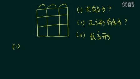 一个方法,不再怕小学数图形问题