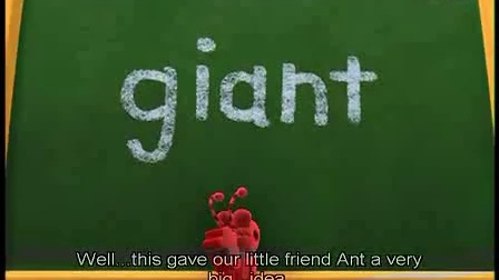 《word world》s109 there's an ant in every giant单词世界第一季
