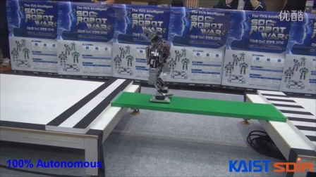 Intelligent SoC Robot War 2016 HURO Competition