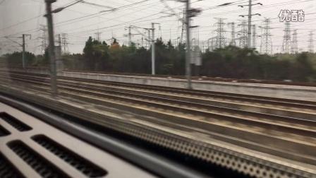 D2248次运行于合武客专,上跨京广线丹水池站,下穿京广高铁(横店--红安西)区间。