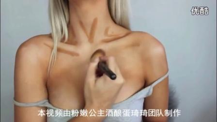 丰胸热点视频怎样快速丰胸?胸部化妆术