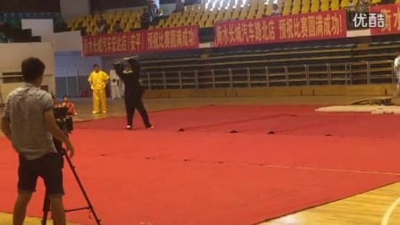 武术比赛开幕式表演 苗刀 林远波