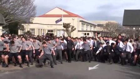 新西兰学校学生用战舞送别去世的老教师