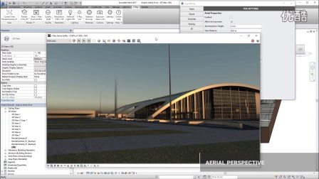 V-Ray For Revit - AerialPerspective&EnvFog 空中透視&環境霧