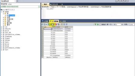 thinkphp3.2 模型 基础连接数据库操作