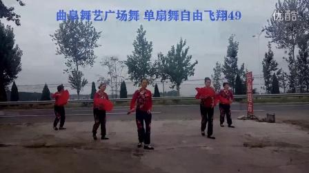 曲阜舞艺广场舞 自由飞翔49