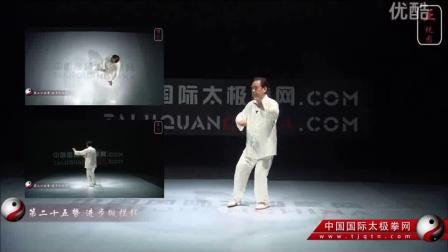 赵幼斌大师杨氏太极拳85式多视角教学(正视角)