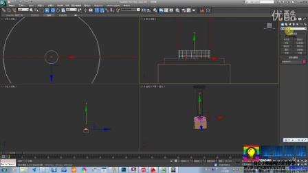 星耀照明 原创亮化照明三维(3DSMAX)设计-基础建模教程 -2.3景观灯具仿古石灯
