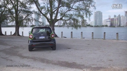2017 Smart Fortwo Electric Drive - Black - Electric Green