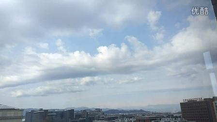 360手机N4S骁龙版 延时摄影 记录雪后北京的云