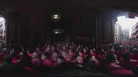 [360度VR全景视频]360video |西班牙的Dahi Handi相当接近,VR虚拟现实_VR资源网