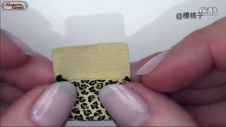 自己动手做芭比娃娃的豹纹鞋包