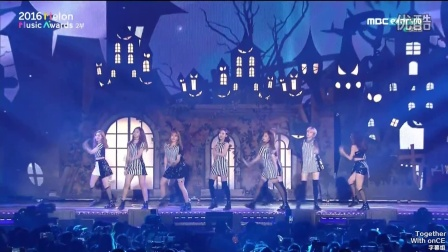 【百度TWICE吧】161119 MMA Cheer up+TT  中字