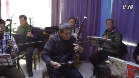 济南市步步高民乐队现场演奏民乐 子弟兵和老百姓