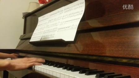 蓝色大海的传说 You are my world钢琴弹奏