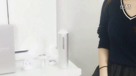 日本美女讲解Aquanode水素水杯