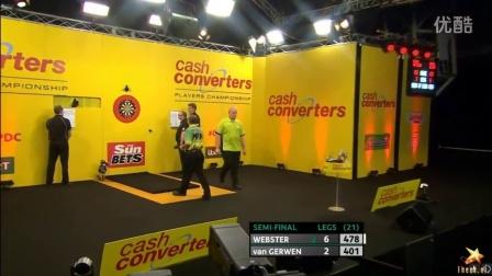 2016PDC世界飞镖职业选手锦标赛半决赛 Michael van Gerwen v Darren Webster