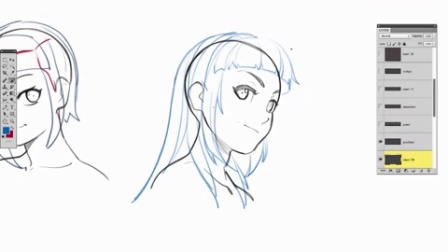 How To Draw Anime Hair, From Construction to Styles!!!