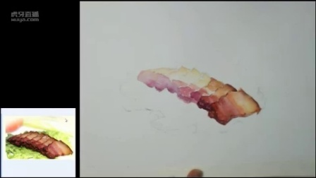 【水彩基础】水彩入门静物教程—美食篇