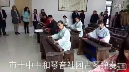 濮阳市十中古琴弹奏