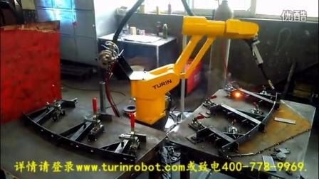 图灵机器人双工位焊接线缆桥架