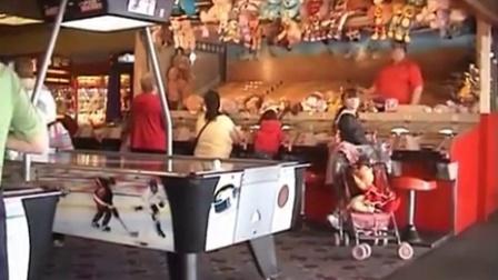 游戏厅也有赛马游戏机