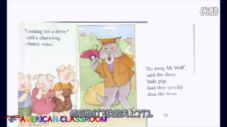 绘本读物 | Kid Story | Go away, Mr. Wolf【Day 5-8】