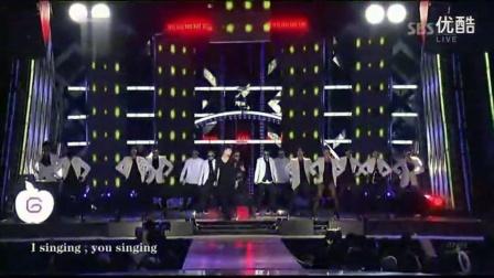 G.D权志龙{无限挑战歌谣祭} .SBS.歌谣大战_高清_高清_1