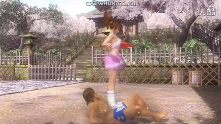 [DOA5]快叫姐姐第17集:霞 綾音:被兩個女孩踩臉踩胸踩肚子,你還不投降?RYONA