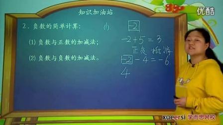 苏教版五年级上册数学满分班第1讲(3)认识负数知识点2_标清